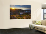 Coastal Landscape Vister from the Idyllic Lindesnes Fyr Lighthouse, Lindesnes, Norway Wall Mural by Doug Pearson