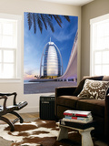 Burj Dubai Hotel, Dubai, Uae, United Arab Emirates Wall Mural by Gavin Hellier