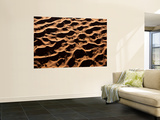 Aerial View over Sand Dunes, Namib Desert, Namibia Wall Mural by Peter Adams