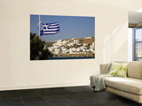 Greece, Cyclades, Mykonos, Mykonos Town Wall Mural by Michele Falzone