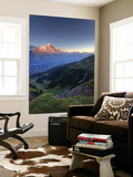 Switzerland, Bernese Oberland, Grindelwald, First, Mt Eiger Wall Mural by Michele Falzone