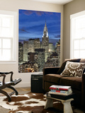 Chrysler Building and Midtown Manhattan Skyline, New York City, Usa Wall Mural by Jon Arnold