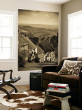 Uk, England, Dorset, Shaftesbury, Gold Hill Wall Mural by Alan Copson