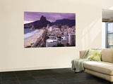 Brazil, Rio De Janeiro, View of Leblon Beach and Two Brothers Mountain - Dois Irmaos Wall Mural by Jane Sweeney