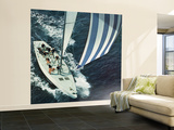 &quot;America&#39;s Cup,&quot; August 22, 1964 Wall Mural  Large by John Zimmerman