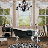 Chandelier Bath I Prints by Elizabeth Medley