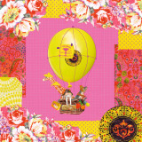 Hot-Air Balloon Trip Prints by Mademoiselle Tralala