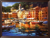 Portofino Colors Prints by Michael O'Toole