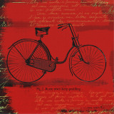 Bicycle I Prints by Andrew Cotton