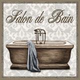 Salon de Bain Plakat af Todd Williams