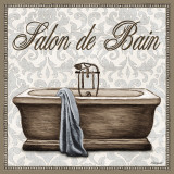 Salon de Bain Print by Todd Williams