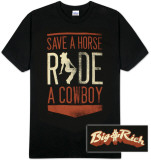 Big & Rich - BR Horse Shirt