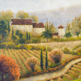 Tuscany Vineyard I Posters by Michael Marcon