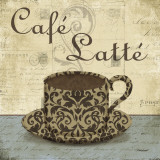 Caf&#233; Latt&#233; Posters by Todd Williams