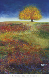 Dreaming Tree in the Field of Magic Affiches par Melissa Graves-Brown