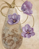 Purple Sophistication I Prints by  Nan