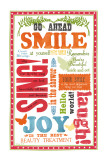 Beauty Smile Poster van Sharyn Sowell