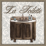 La Toilette Art by Todd Williams