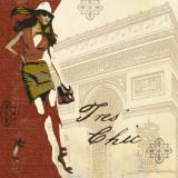 Tres Chic Poster von Carol Robinson