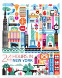 New York Poster par Fernando Volken Togni