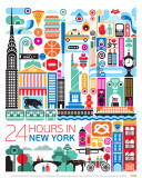 New York Poster by Fernando Volken Togni