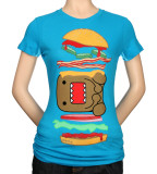 Juniors: Domo - Burger Domo T-shirts