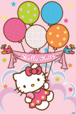 Hello Kitty- Balloons Affiches