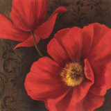 Rouge Poppies II Posters by Jordan Gray
