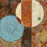 Blauer Mond I Kunstdruck von Carol Robinson
