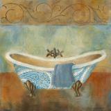 Paisley Bath II Print by Carol Robinson