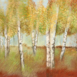 Birch Trees I Art