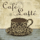 Café Latté Posters af Todd Williams