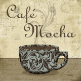 Caf&#233; Mocha Poster by Todd Williams