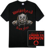 Motorhead - Iron &quot;Double Fisted&quot; Fist Shirts