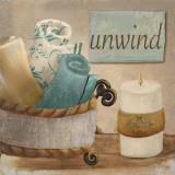 Unwind Affiche par  Hakimipour-ritter