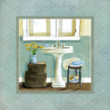 Bath Essentials I Prints by Carol Robinson