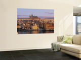 Little Quarter and St Vitus Cathedral, Prague, Czech Republic Wall Mural by Jon Arnold