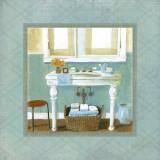 Bath Essentials II Poster von Carol Robinson