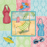 Beach Wear I Print by Paul Brent