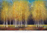 Bosquet d'or Art par Melissa Graves-Brown