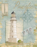 Seacoast Lighthouse II Prints by Paul Brent