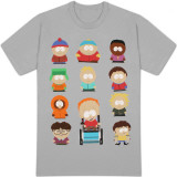 South Park - Les acteurs T-Shirts