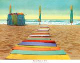 Paseo de playa Lámina por Robin Renee Hix