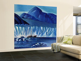 """Navigating Through Icebergs,"" July 19, 1941 Wall Mural – Large by Dale Nichols"
