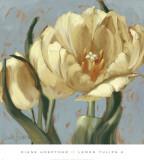 Lemon Tulips II Art by Diane Hoeptner
