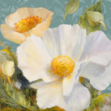 Sunbeam Flowers II Print by Lanie Loreth