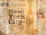 New York Postcard Posters