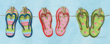 Flip Flops II Prints by Charlene Olson