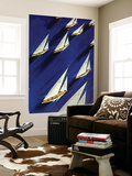 &quot;Sailboat Regatta,&quot; June 29, 1940 Wall Mural by Ski Weld