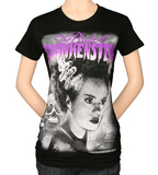 Juniors: Universal Monsters - Purple Bride T-Shirt